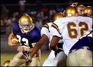 Melrose Plays defense
