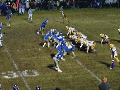 Defense sets up to stop Oliver Springs on yet another attempt