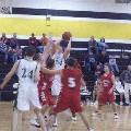 #54 Jerrad Calton trying to put one up