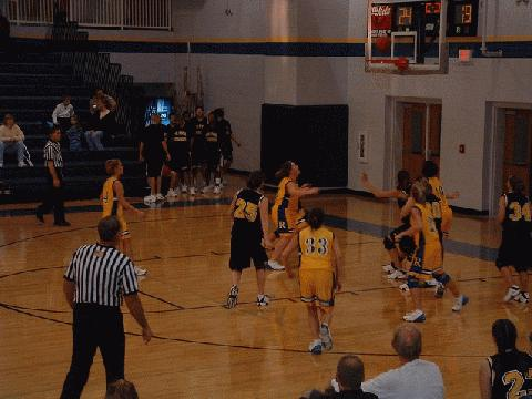 #44 Allen blocks out Riverside's #10