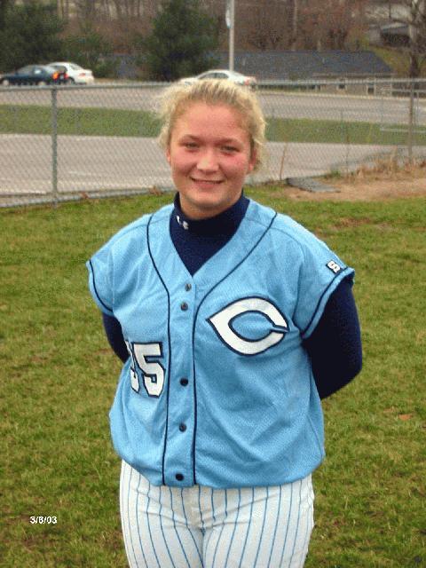 Winning Pitcher---  Savanah Filley--  Cumberland Co