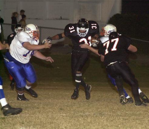 Charvez Francisco rushed for 115 yards in a 24-10 win over Volunteer