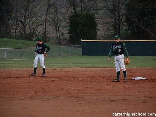 Middle Infielders SS #17 Parson 2nd #9 Mounger