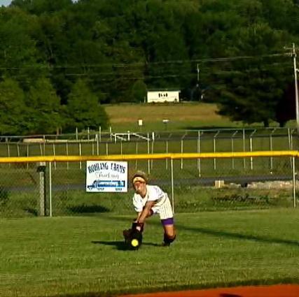 Columbia- RF Kristin Falconbury catch
