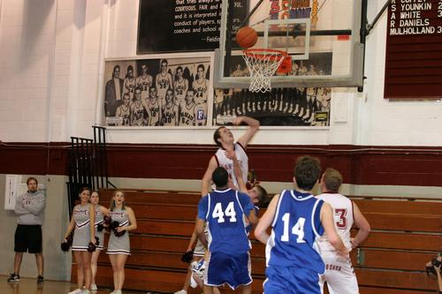OR's Grant Domscic with some of the final points.